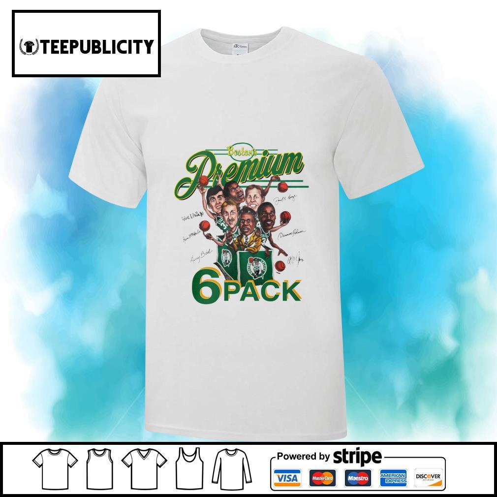 Boston Celtics Boston's Premium 6 pack signatures shirt