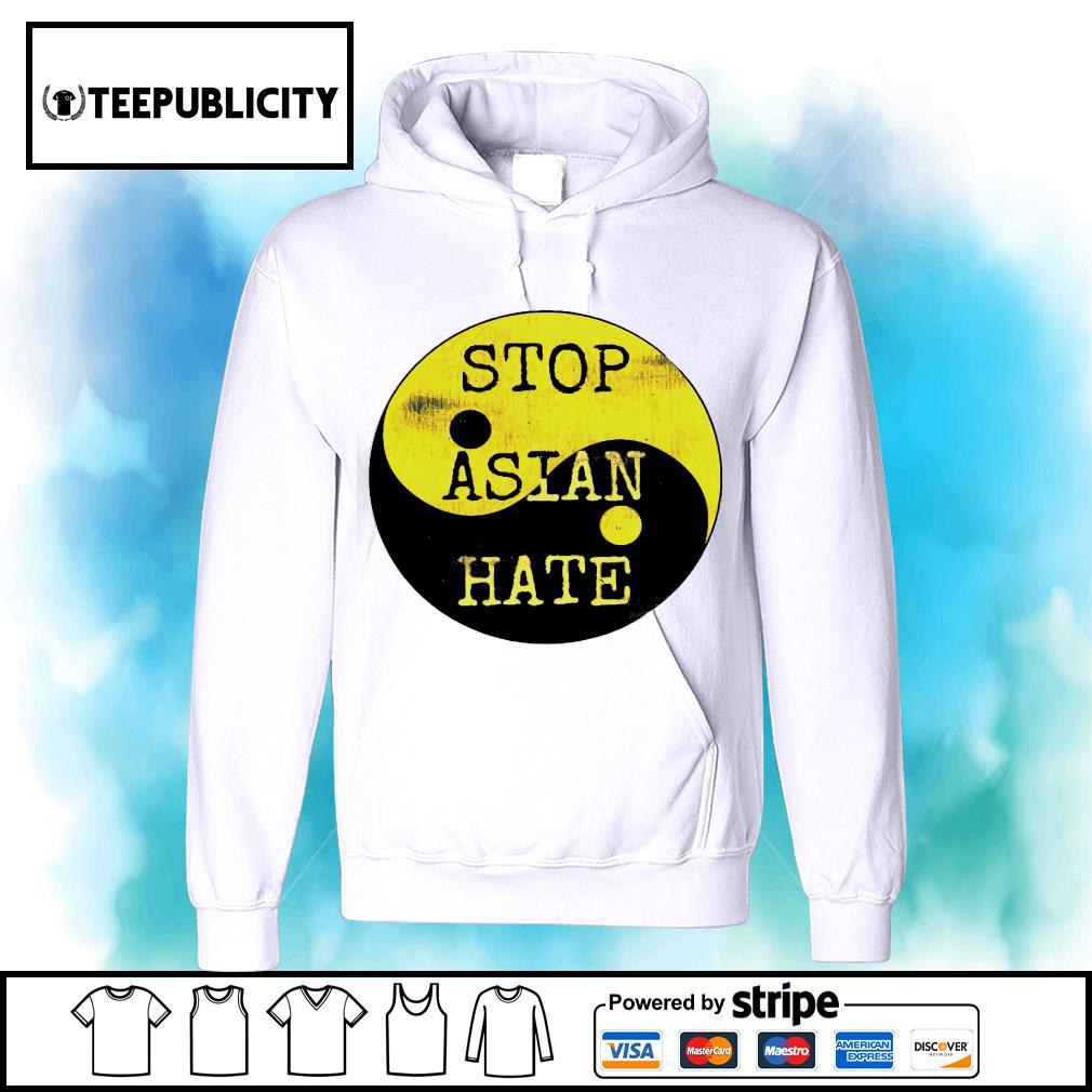 Stop Asian hate Aaip Ying Yang Asian lives matter s hoodie