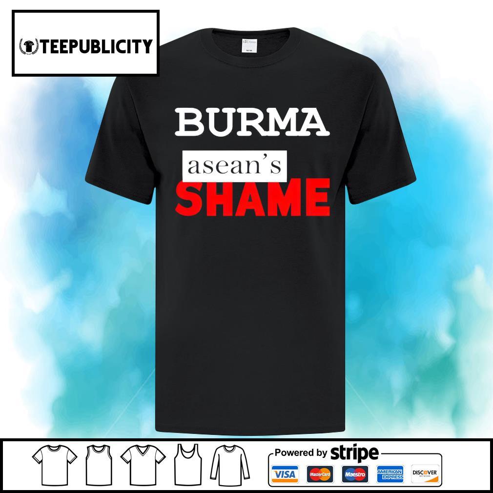 Burma Asean's Shame s ladies-tee