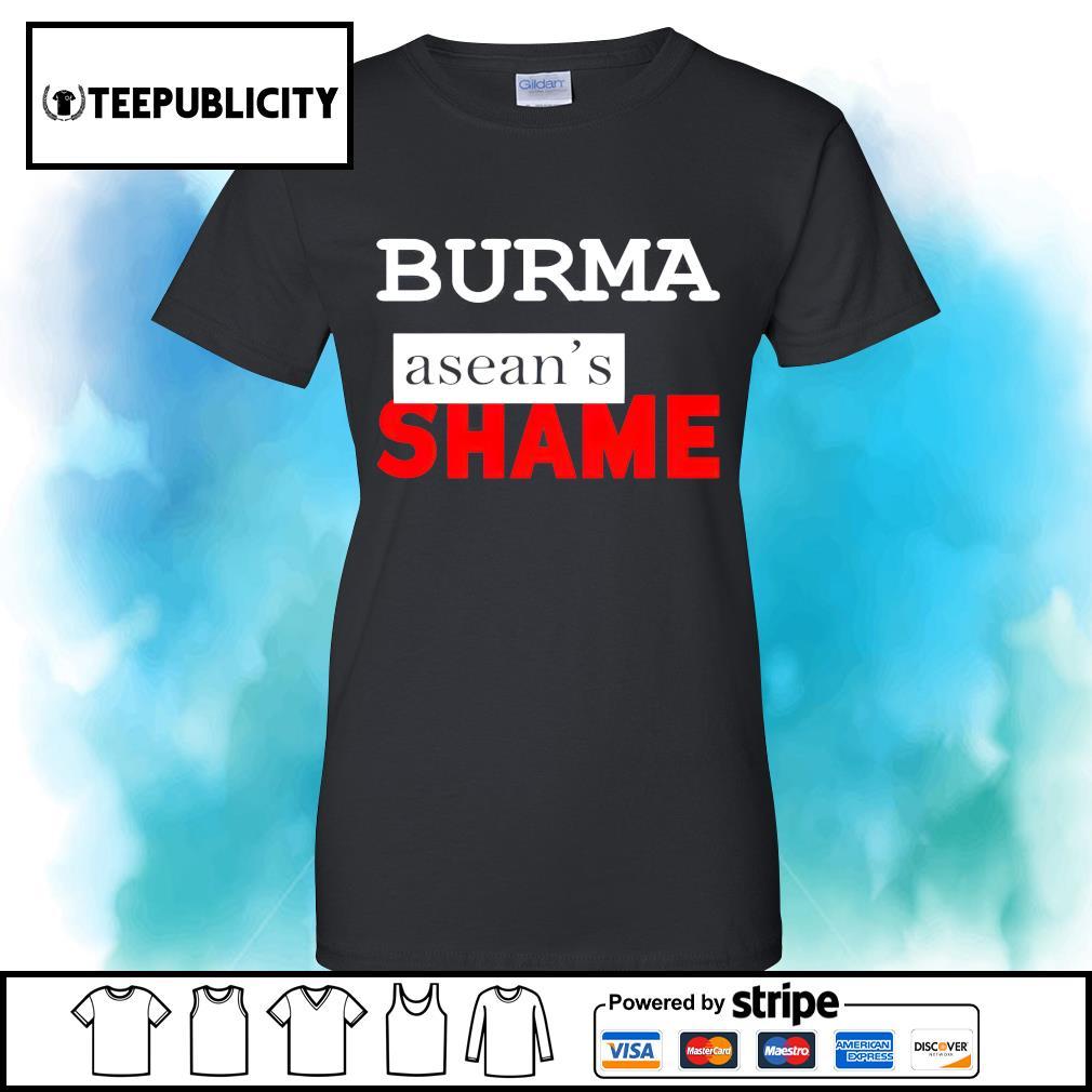 Burma Asean's Shame s v-neck-t-shirt