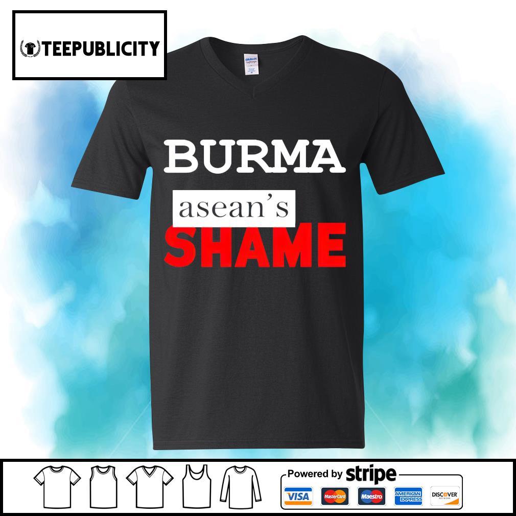 Burma Asean's Shame s youth-tee