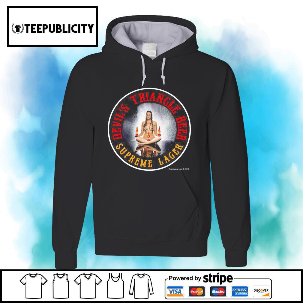 Devil's Triangle beer supreme lager s hoodie