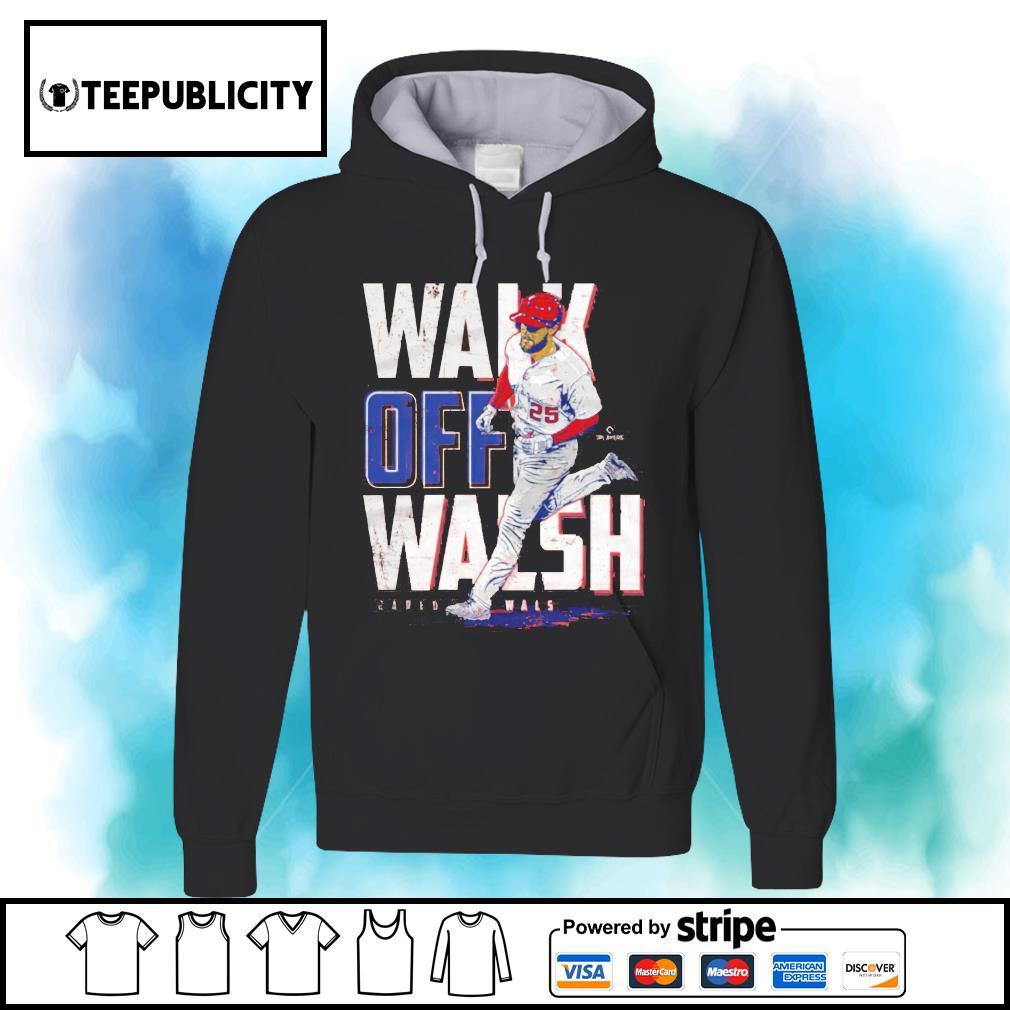 Los Angeles baseball walk off Walsh Jared Walsh s hoodie