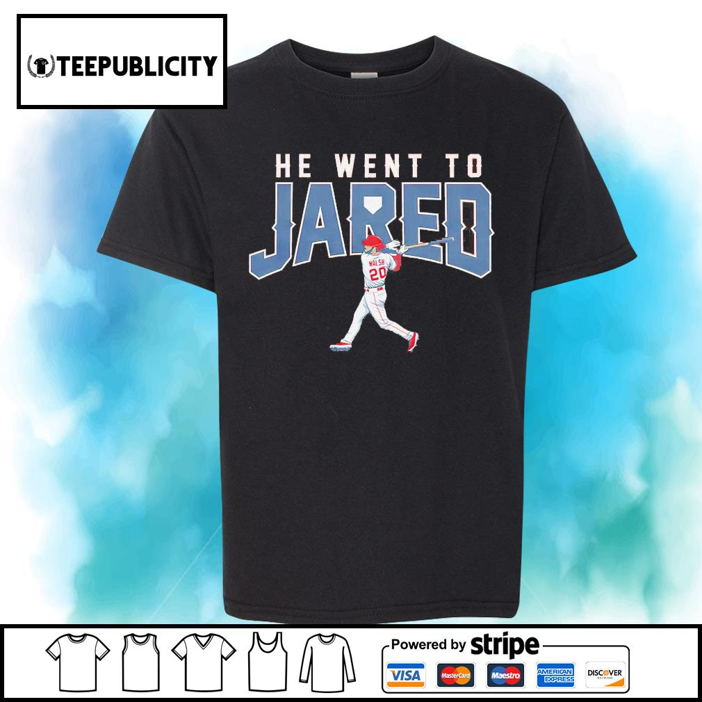 Los Angeles Jared Walsh he went to Jared shirt