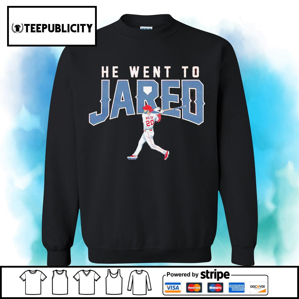 Los Angeles Jared Walsh he went to Jared s sweater