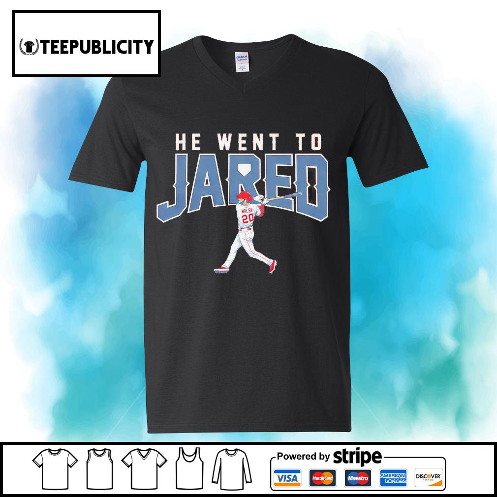 Los Angeles Jared Walsh he went to Jared s youth-tee
