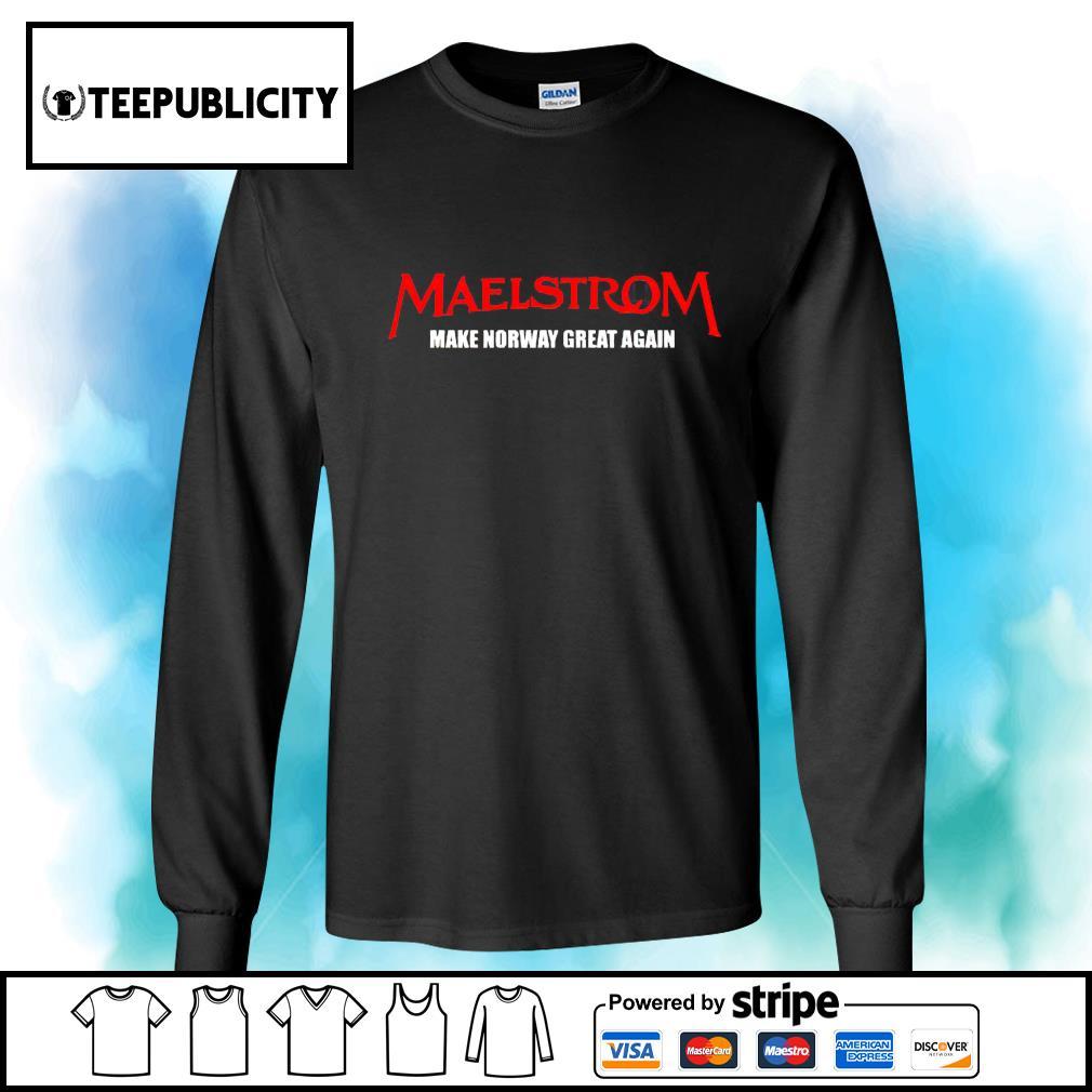 Maelstrom make norway great again s longsleeve-tee