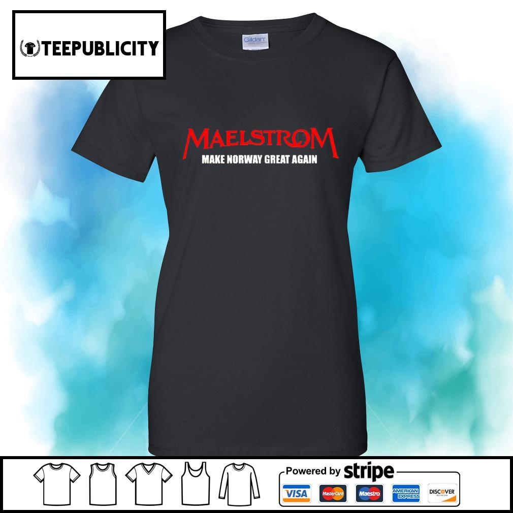 Maelstrom make norway great again s v-neck-t-shirt