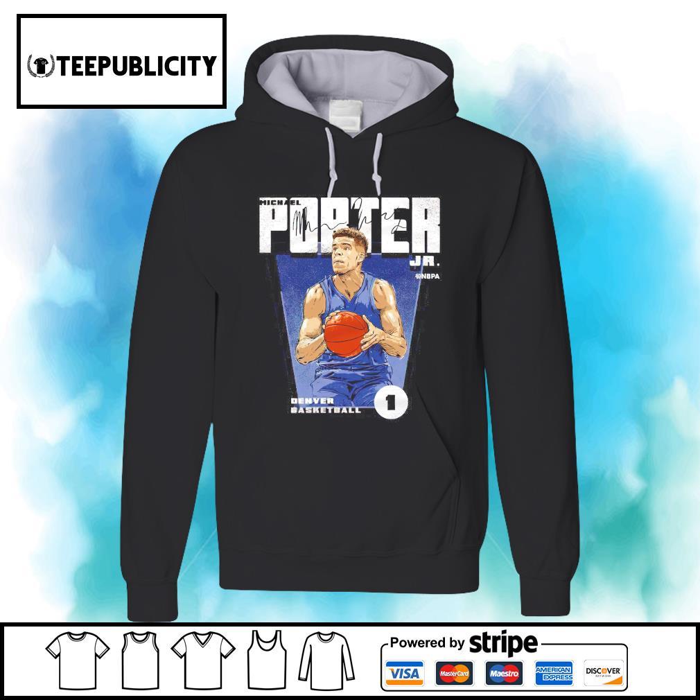 Michael Porter Jr. Denver basketball signature s hoodie