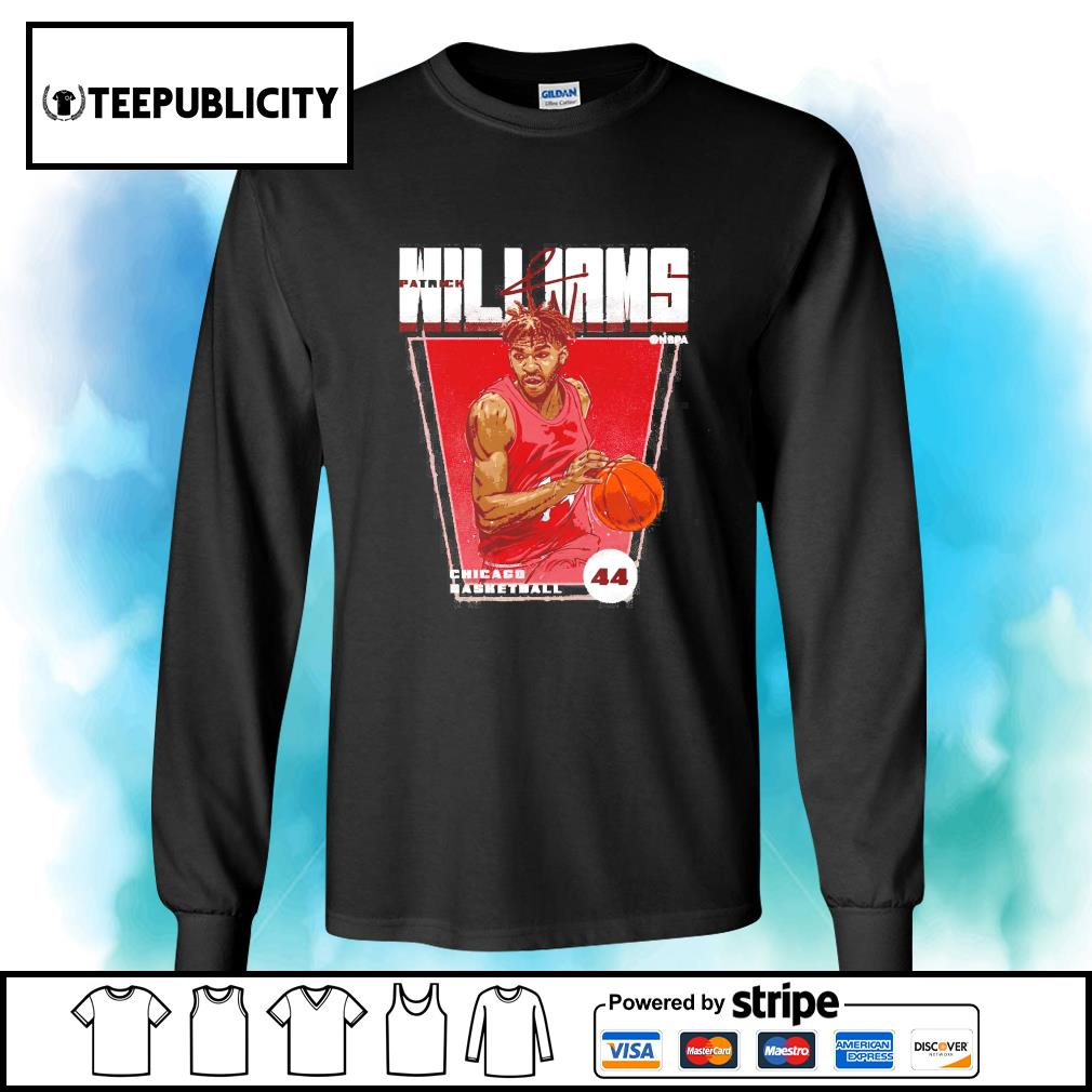 Patrick Williams Chicago basketball signature s longsleeve-tee