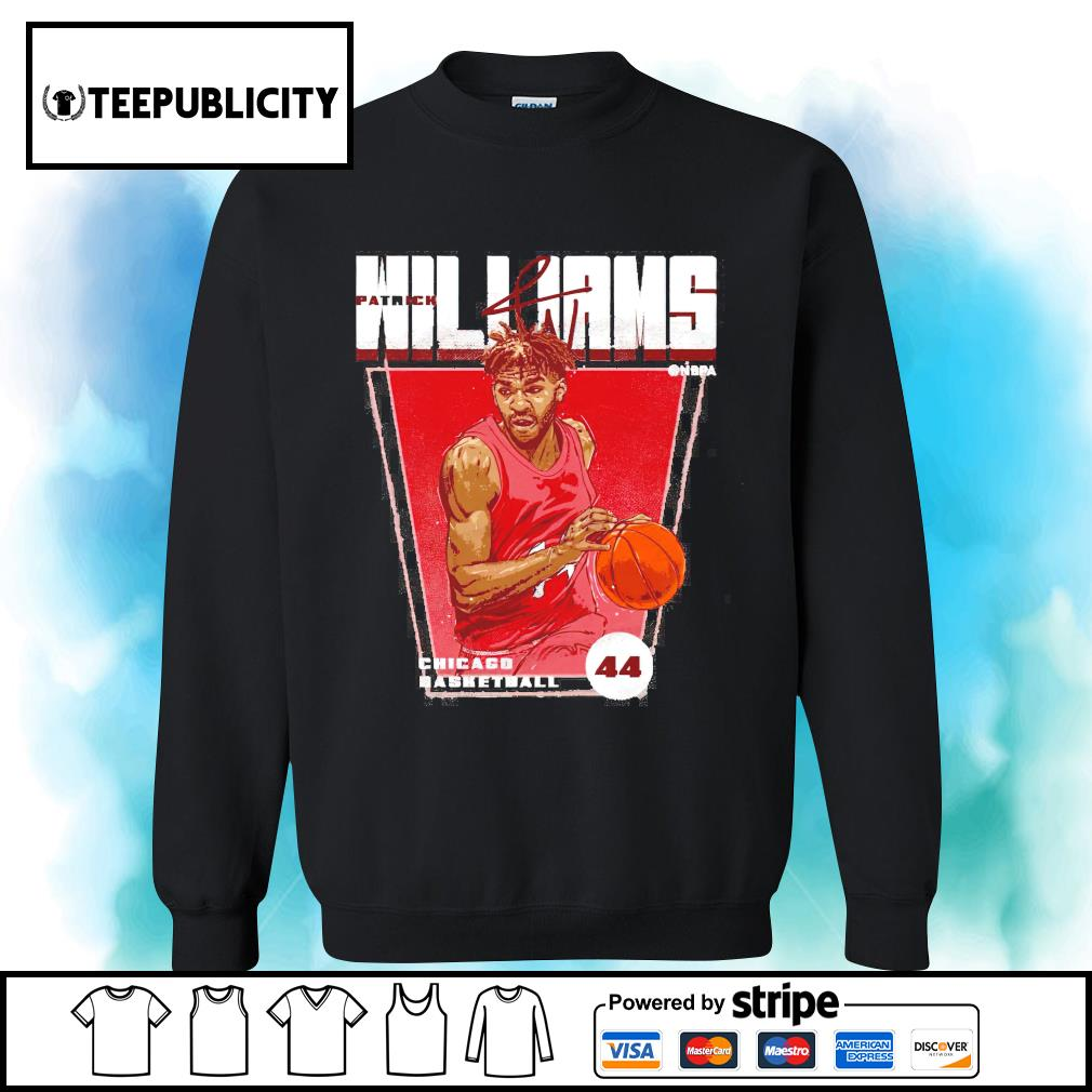 Patrick Williams Chicago basketball signature s sweater