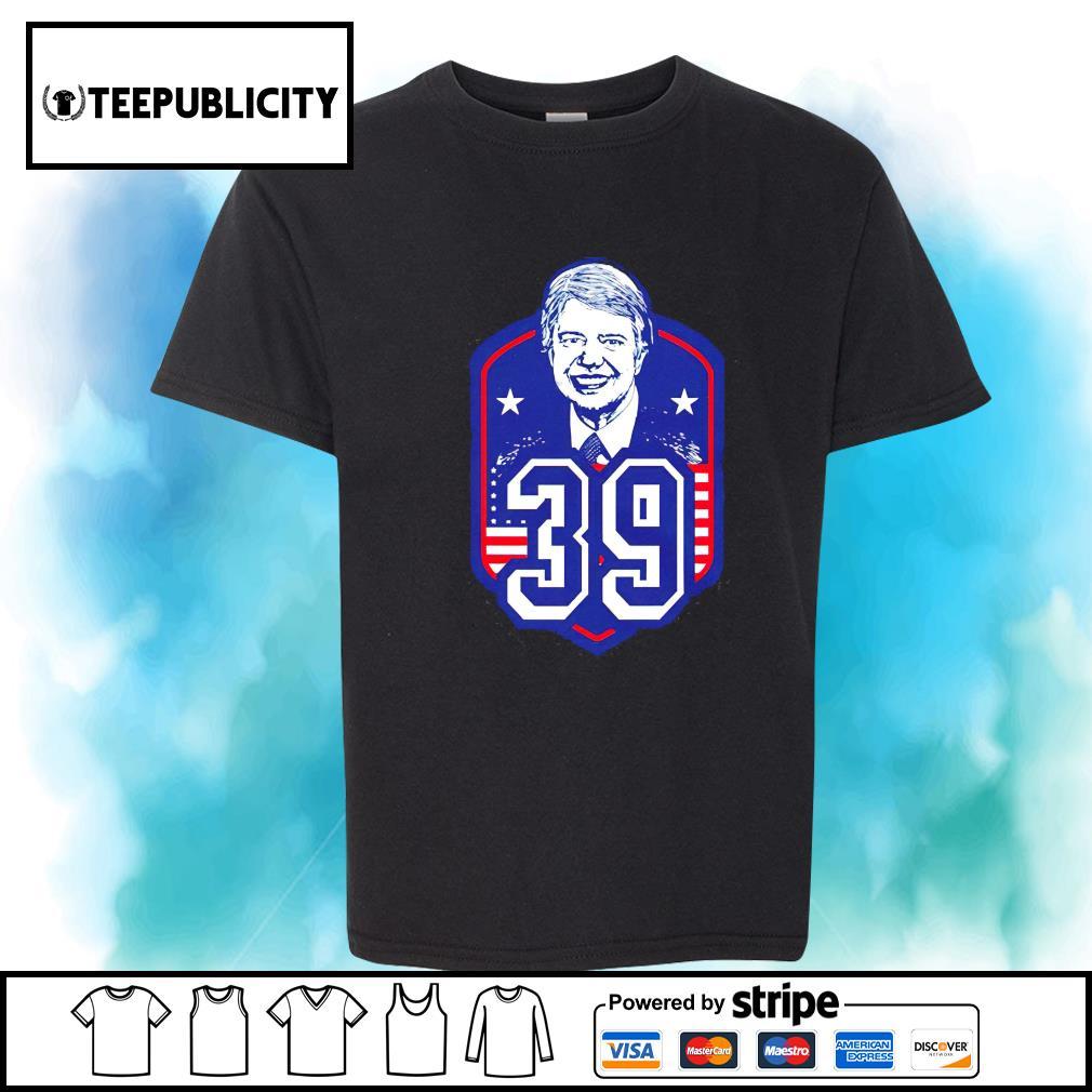 President Jimmy Carter 39 shirt