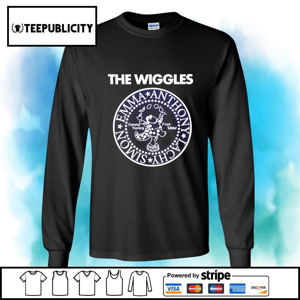 The Wiggles Emma Anthony Lachy Simon s longsleeve-tee