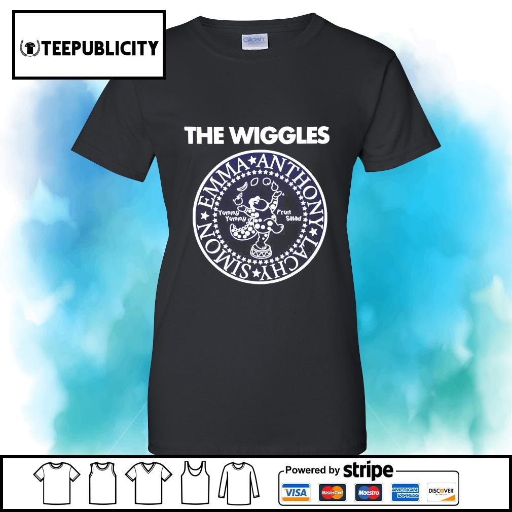 The Wiggles Emma Anthony Lachy Simon s v-neck-t-shirt