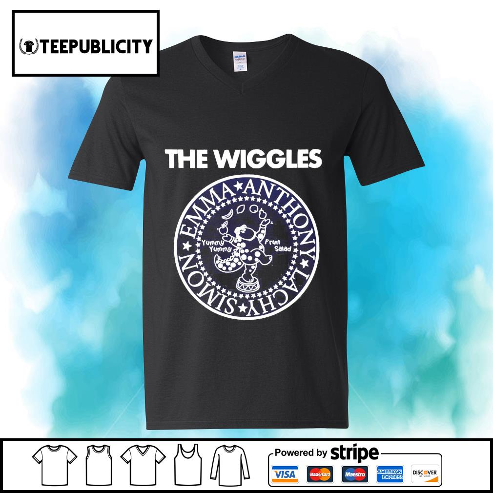 The Wiggles Emma Anthony Lachy Simon s youth-tee