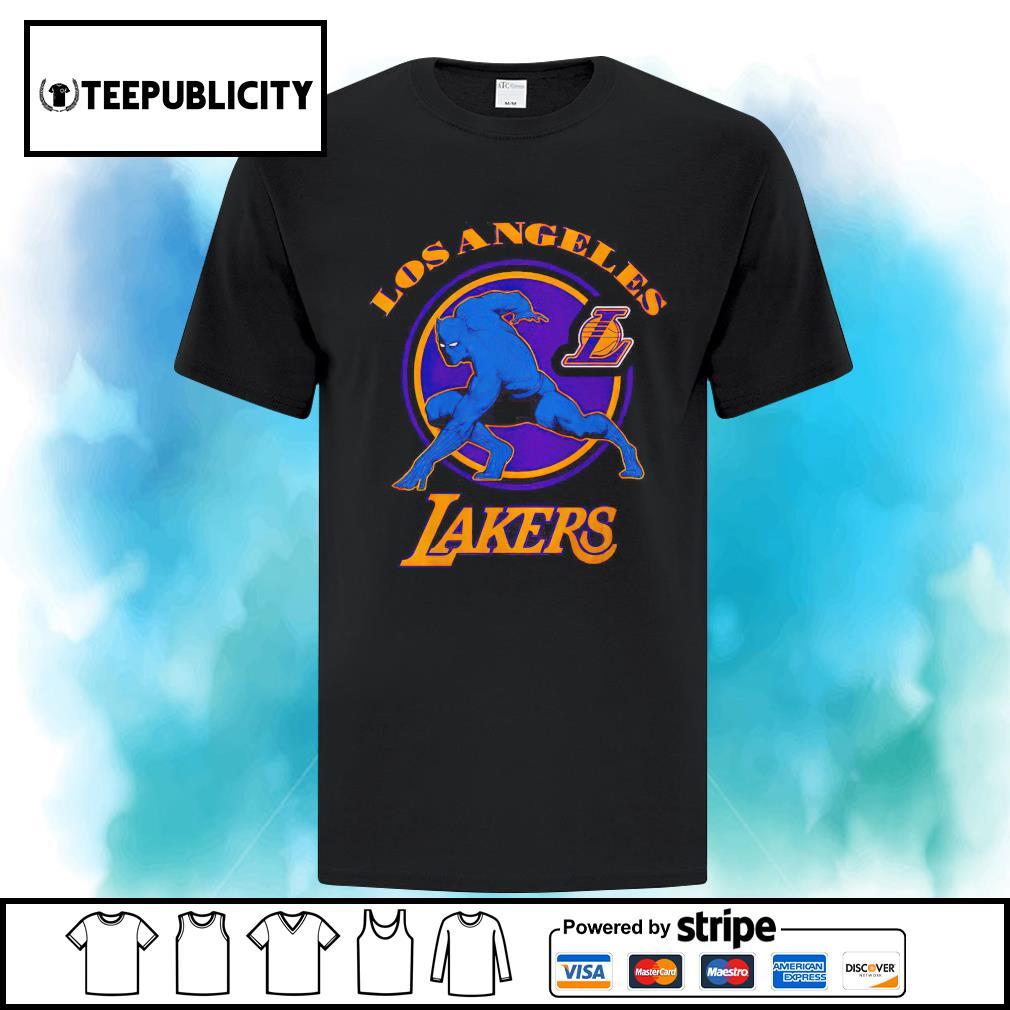 Marvel Black Panther Los Angeles Lakers NBA shirt, hoodie, sweater ...