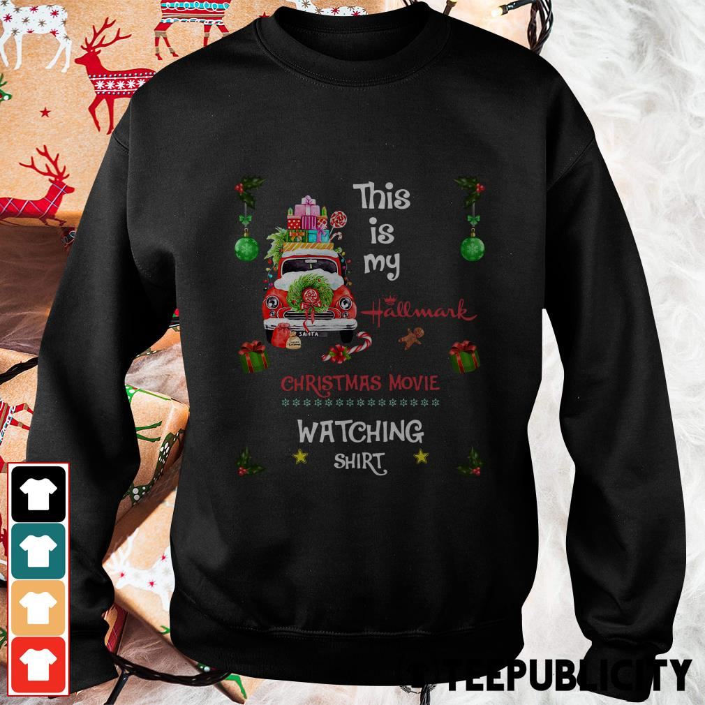2019 this is my Hallmark Christmas movie watching Sweater