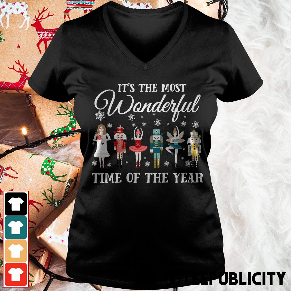 Ballet Nutcracker It S The Most Wonderful Time Of The Year Shirt Hoodie