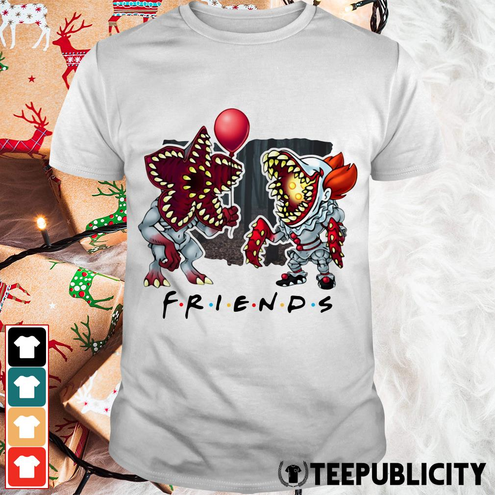 Demogorgon IT Pennywise Friends shirt