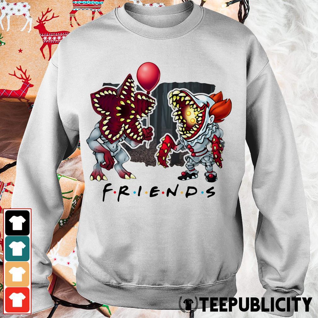 Demogorgon IT Pennywise Friends Sweater