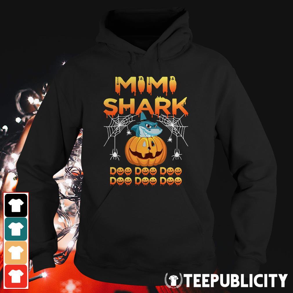 Halloween Mimi shark doo doo doo Hoodie