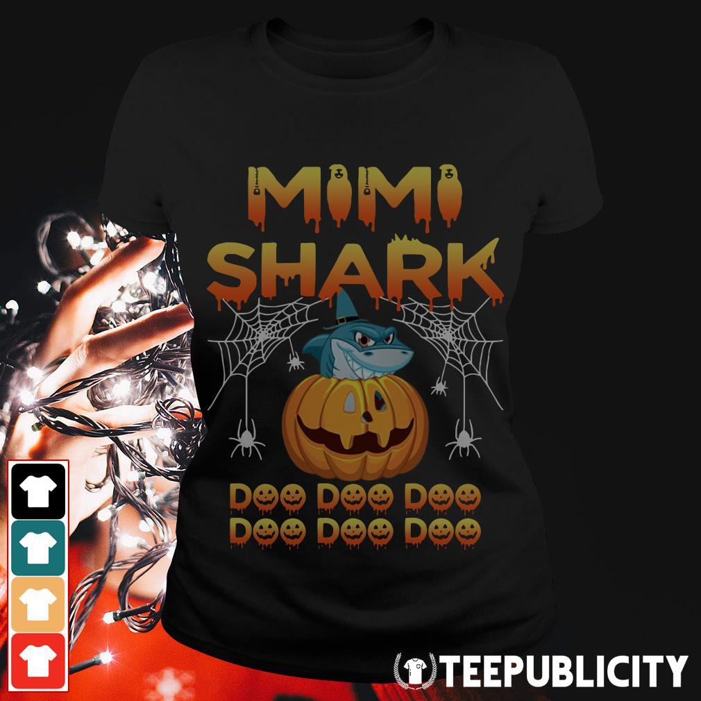 Halloween Mimi shark doo doo doo Ladies Tee