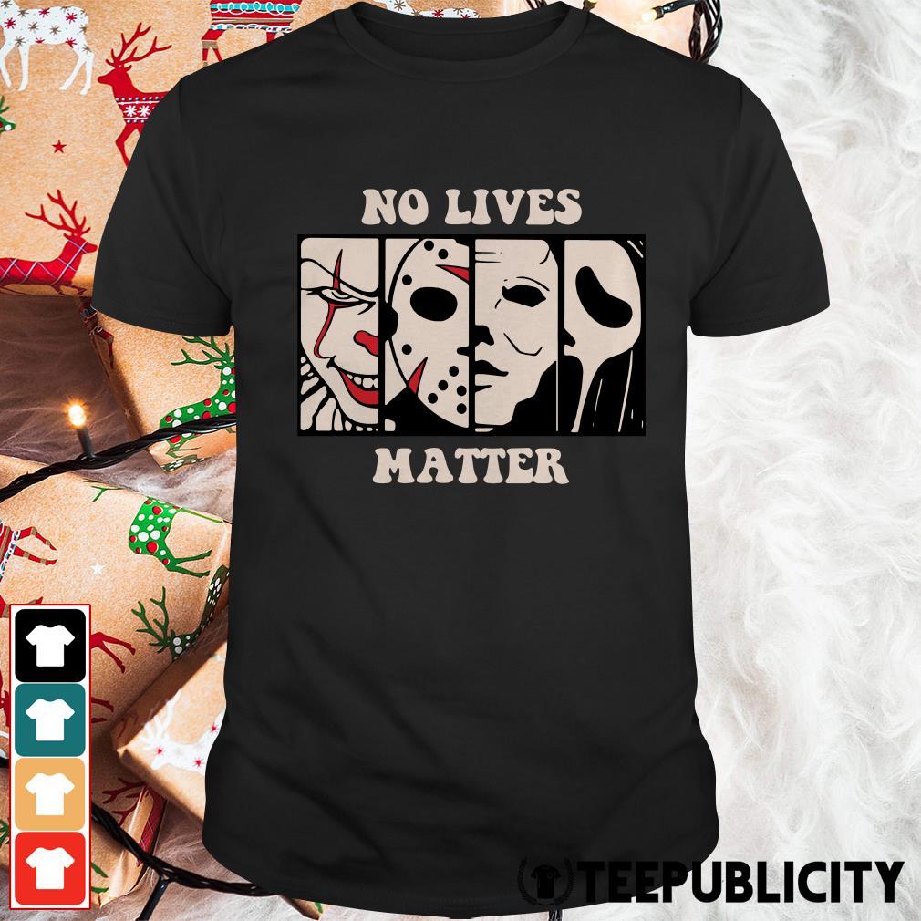 Halloween no lives matter shirt