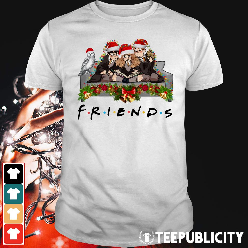 Harry Potter Christmas Shirt.Harry Potter Hermione And Ron Weasley Christmas Friends Tv Show Shirt