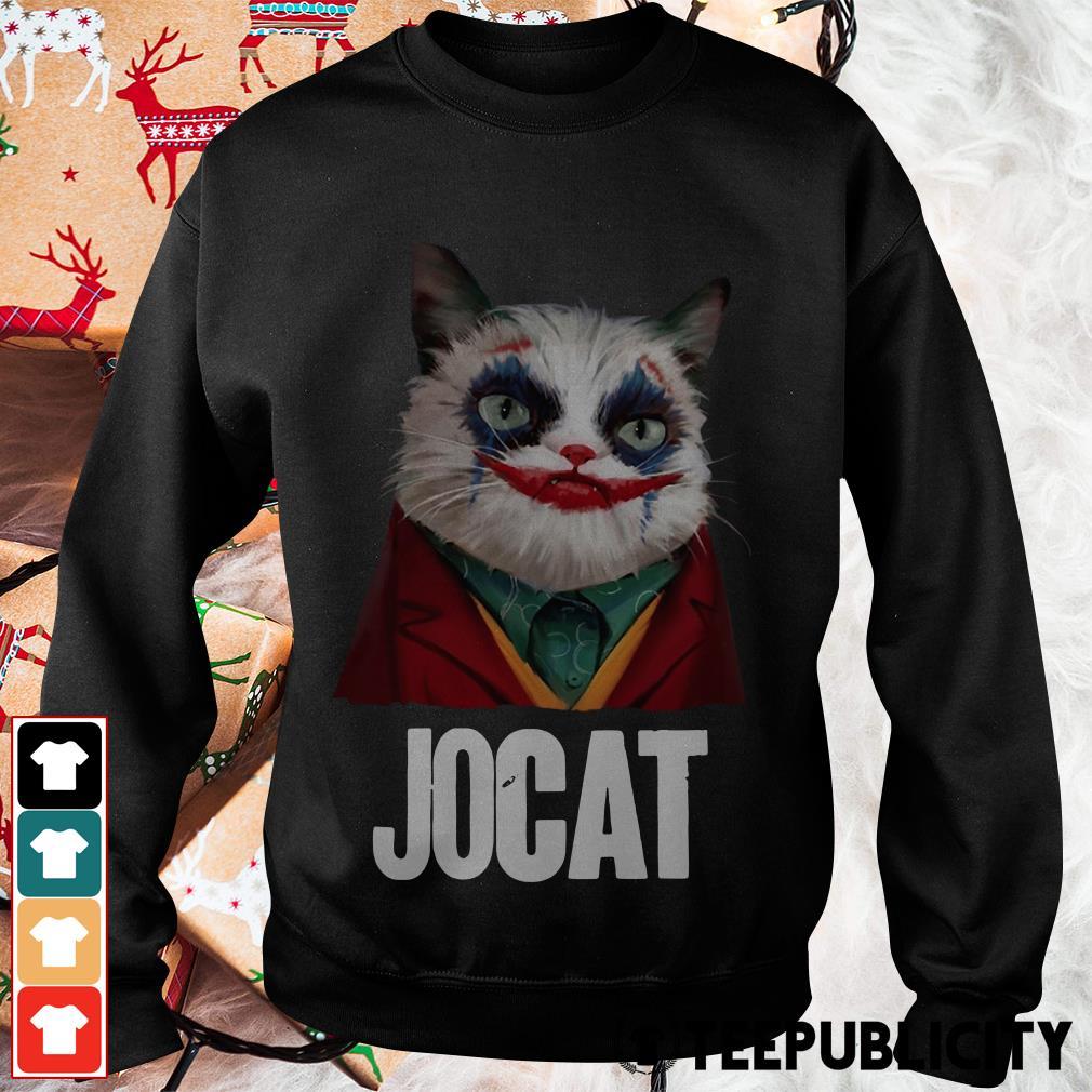 Jocat Joker cat funny Sweater