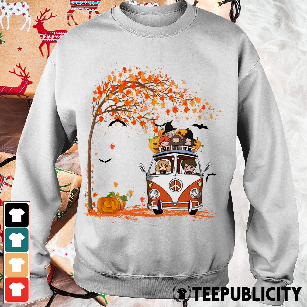 New York Yankees driving car Autumn leaf tree Sweater