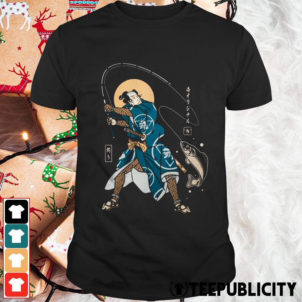 Official fishing samurai shirt