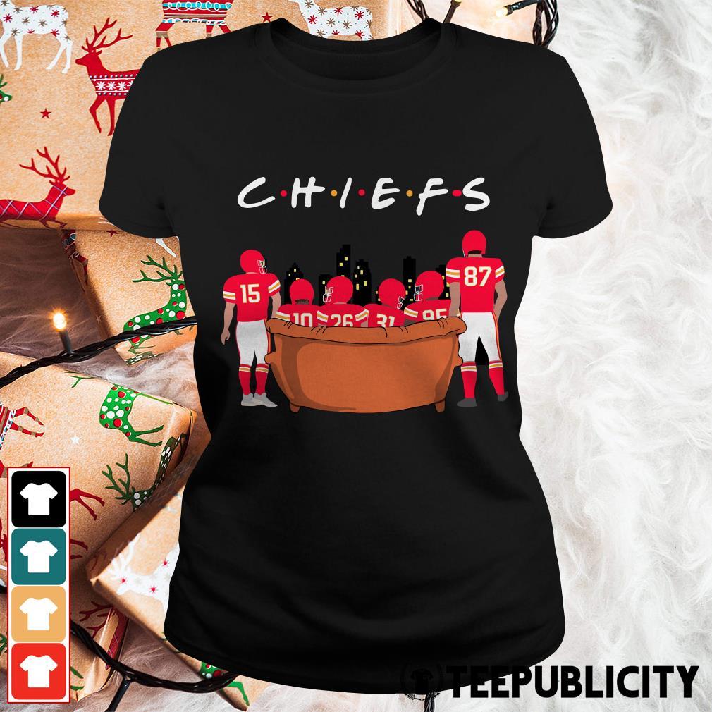 Official Kansas City Chiefs Friends TV show Ladies Tee