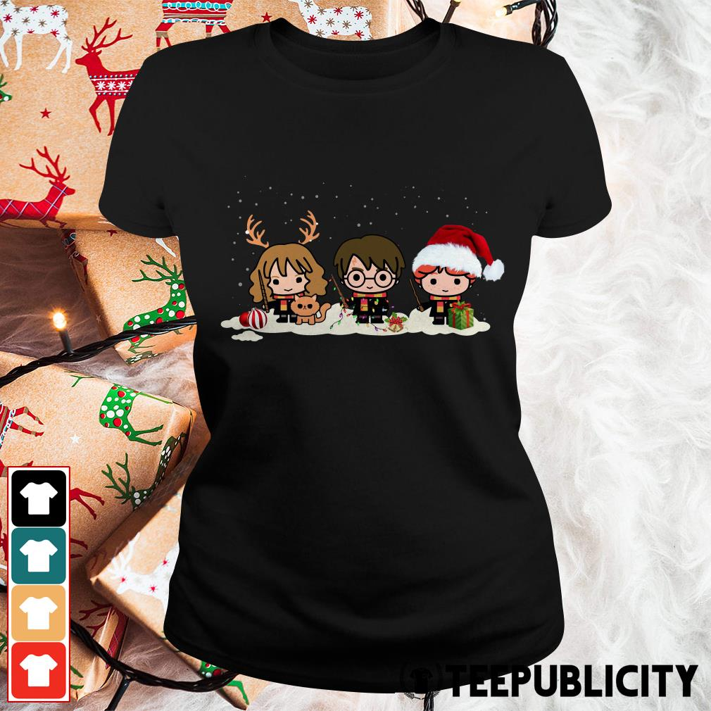 Official Santa Harry Potter chibi Christmas is coming Ladies Tee