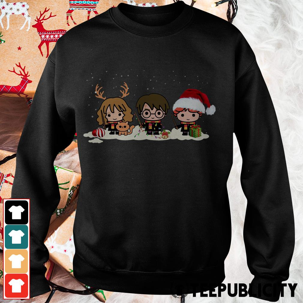 Official Santa Harry Potter chibi Christmas is coming Sweater