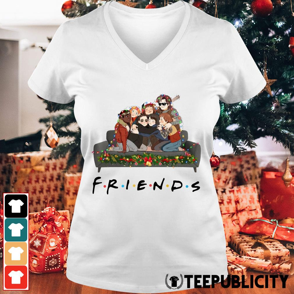 Stranger Things Christmas Sweater.Official Stranger Things Friends Tv Show Christmas Shirt