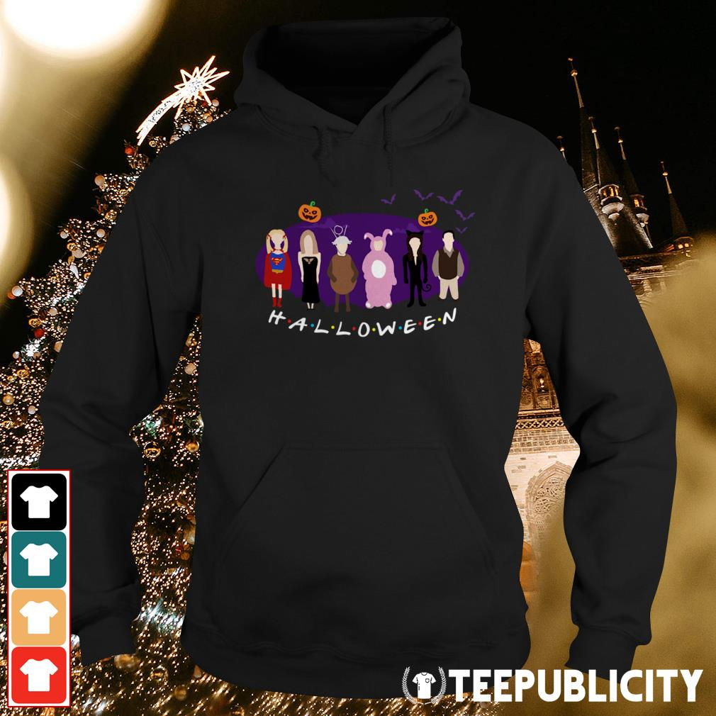 Official The One with the Halloween Party friends tv show Hoodie
