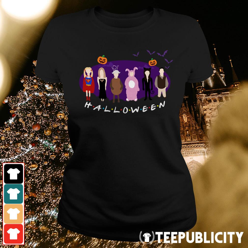 Official The One with the Halloween Party friends tv show Ladies Tee