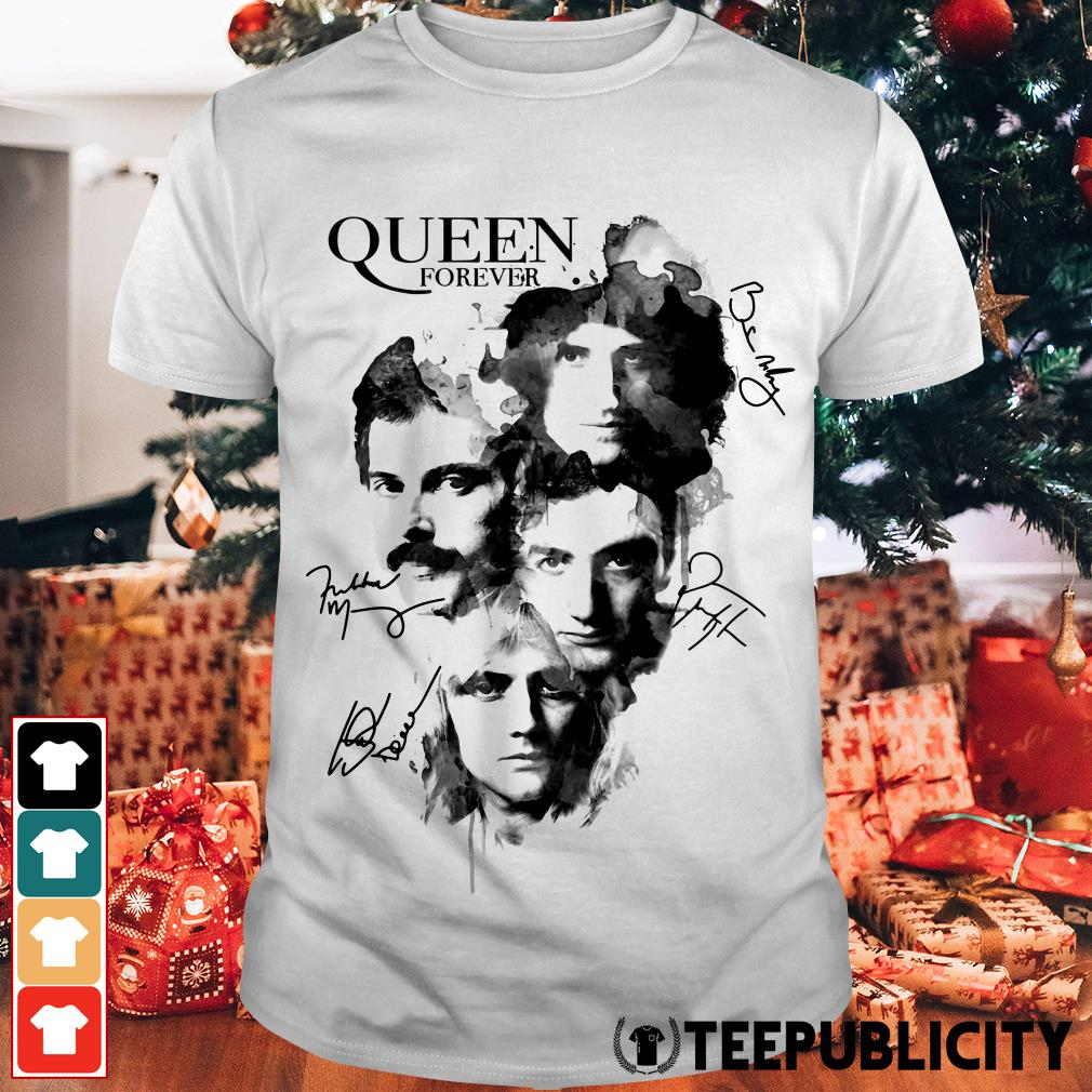 Queen forever signatures shirt