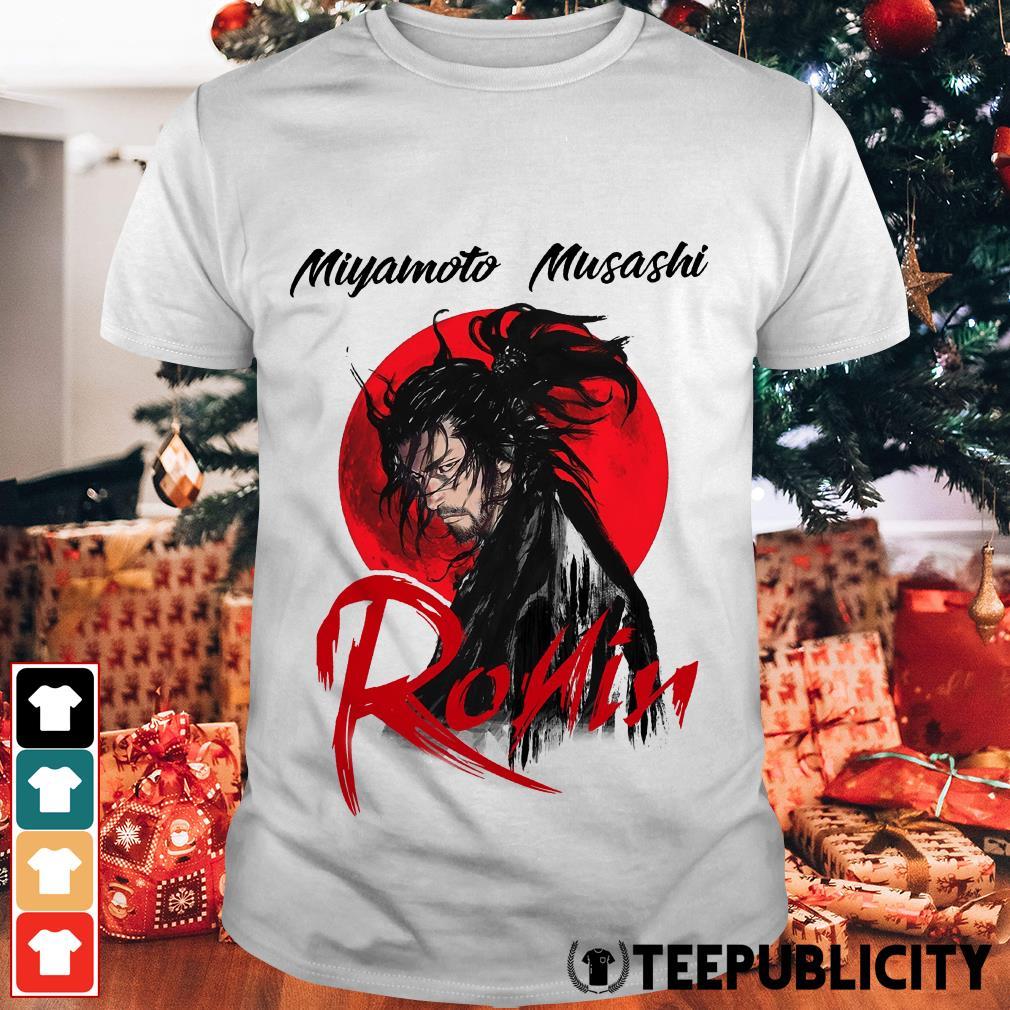 Red moon Miyamoto Musashi ronin shirt