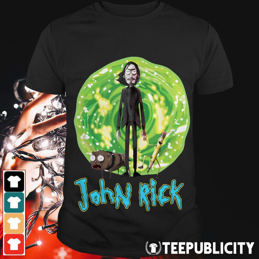 Rick and Morty John Rick shirt