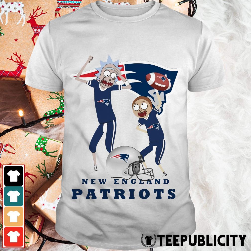 Rick and Morty New England Patriots shirt