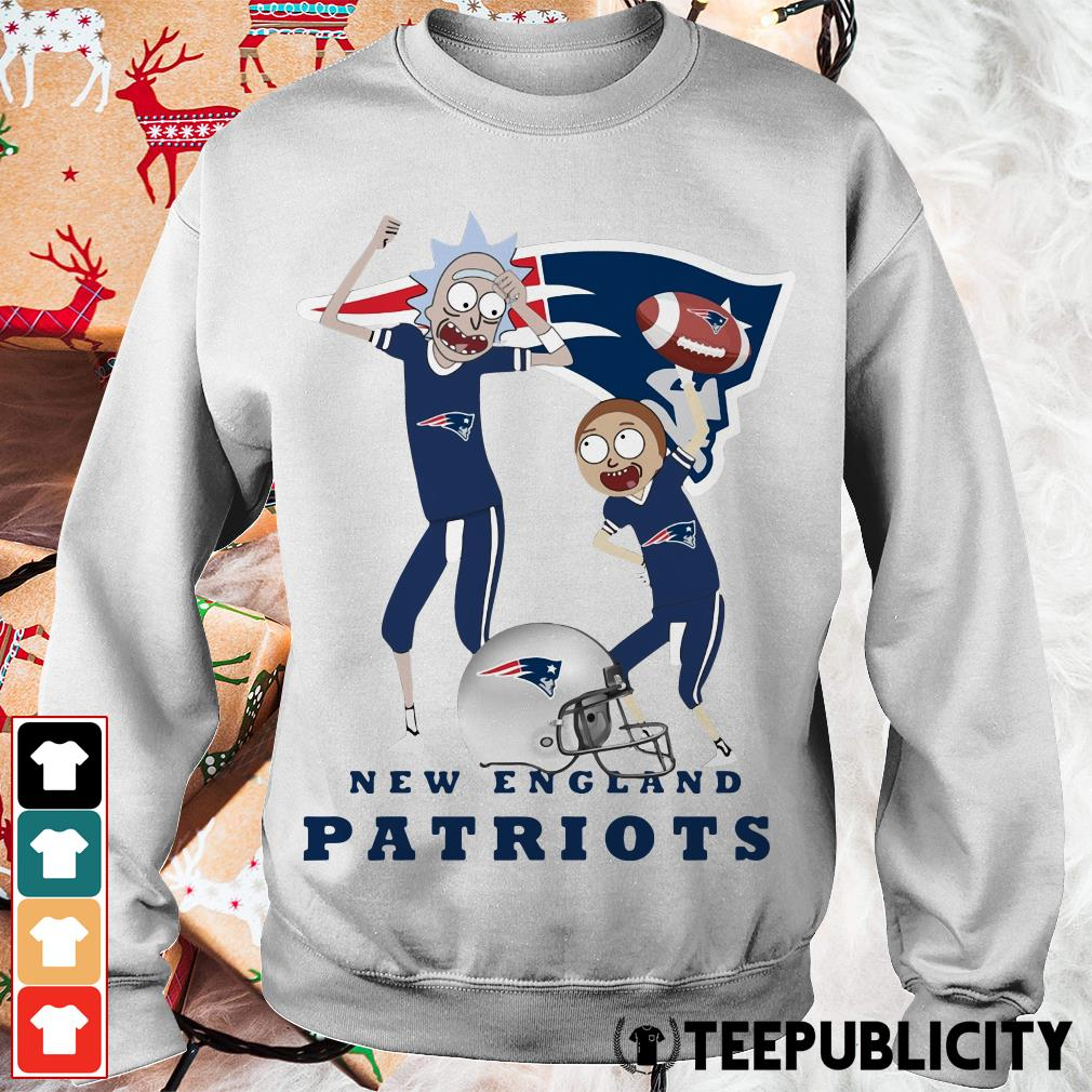 Rick and Morty New England Patriots Sweater
