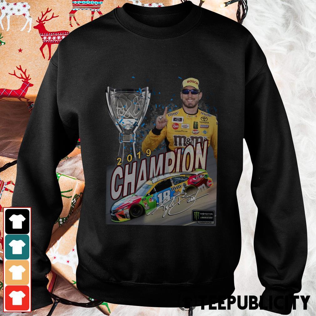 Kyle Busch 2019 Champion Signature Sweater