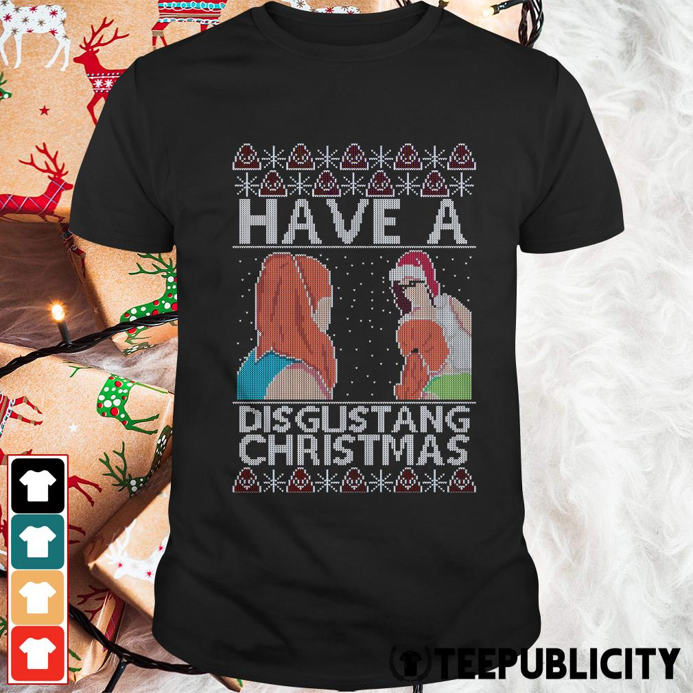 Official Have a Disgustang Christmas Guys Shirt