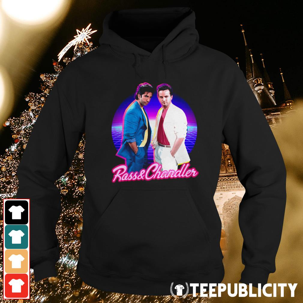 Ross and Chandler Friends Retro Hoodie
