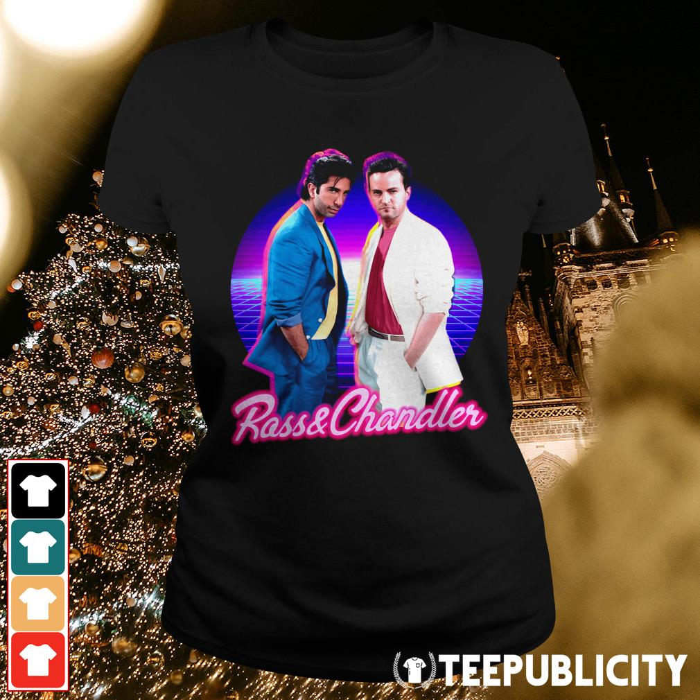 Ross and Chandler Friends Retro Ladies Tee