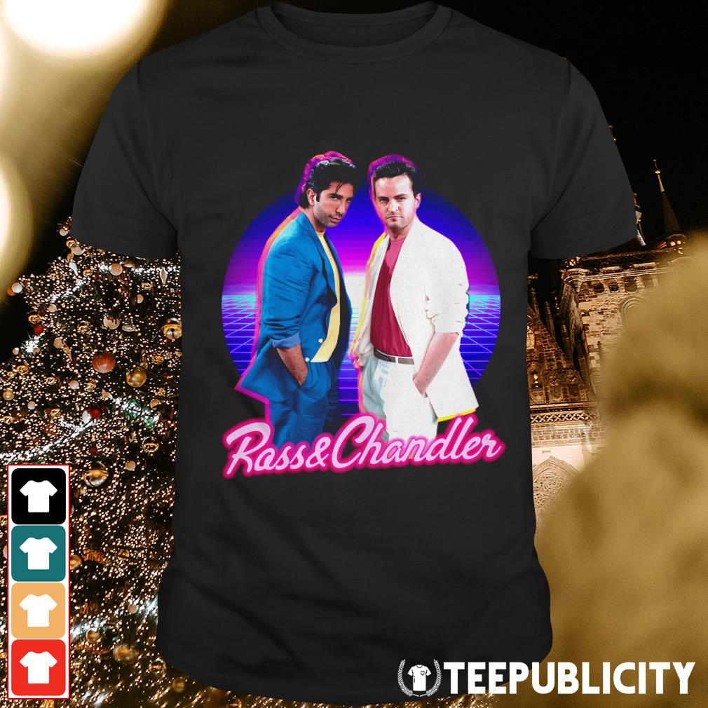 Ross and Chandler Friends Retro shirt