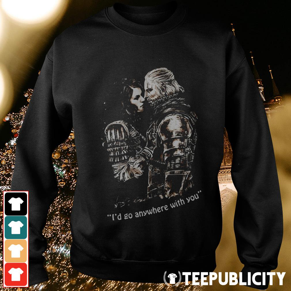 The Witcher I'd go anywhere with you Sweater