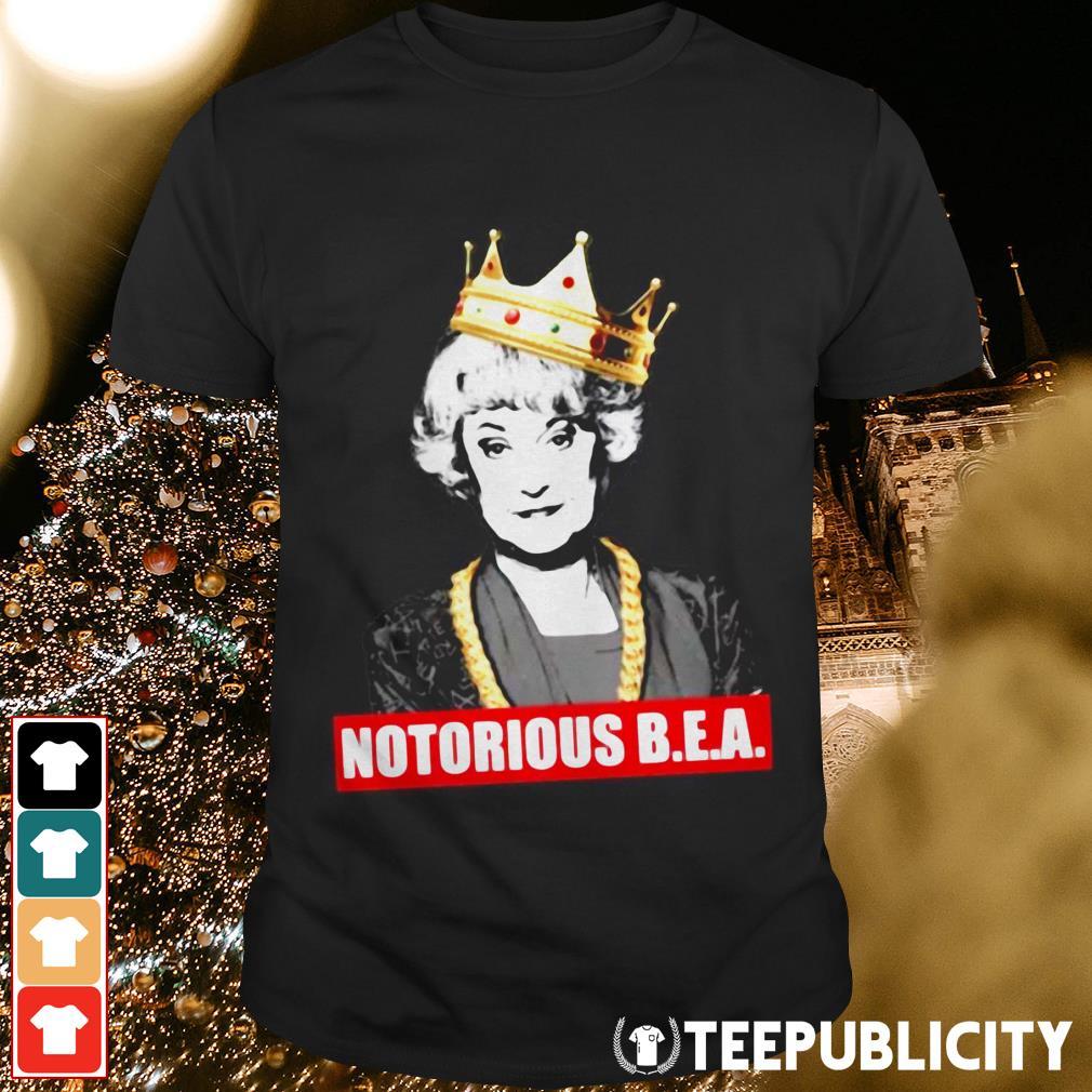 Blanche Notorious B.E.A shirt
