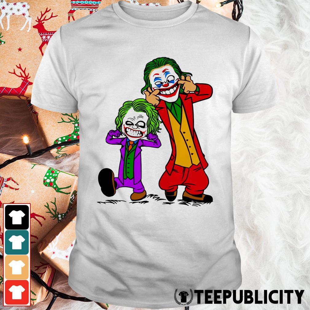 Double Joker Calvin and Hobbes shirt
